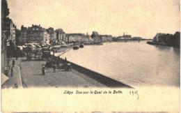 LIèGE  Vue Sur Le Quai De La Batte. - Liege
