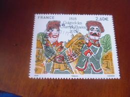 OBLITERATION RONDE  SUR TIMBRE GOMME ORIGINE YVERT N° 5216 - France