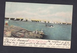 USA Connecticut Harbor View New London Annual Course N.Y. Yacht Club ( Langsdorf & Co) - Etats-Unis