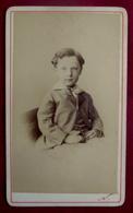 Cdv  Enfant GARCONNET - PHOTOGRAPHE NADAR - Personnes Anonymes