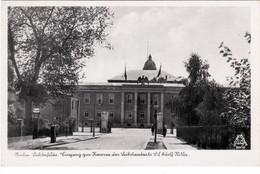 """Berlin - Lichterfelde, Eingang Zur Kaserne Der Leibstandarte SS """" Adolf Hitler """", Stempel ! - Weltkrieg 1939-45"""