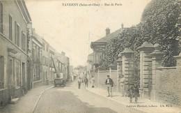 """/ CPA FRANCE 95 """"Taverny, Rue De Paris"""" - Taverny"""