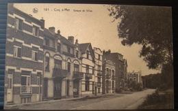 CP  Coq Sur Mer. Groupe De Villas.161. Edit Vve Ghevaert Dufort, Grand Bazar. Chantecler, Coq Sur Mer - De Haan