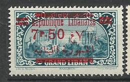 GRAND LIBAN  N° 120 NEUF*   CHARNIERE / MH - Grand Liban (1924-1945)