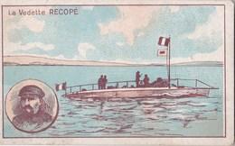 Vers 1910 LA VEDETTE RECOPE (matériel Militaire ?) (publicité Au Dos Bonzel à Haubourdin Nord Chicorée) - Sonstige