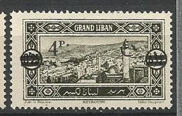 GRAND LIBAN  N° 83 NEUF*   CHARNIERE / MH - Grand Liban (1924-1945)