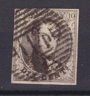 N° 6 Margé : 114 TERMONDE - 1851-1857 Médaillons (6/8)