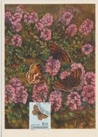 Danemark Carte Maximum 1993 Papillons 1053 - Cartes-maximum (CM)