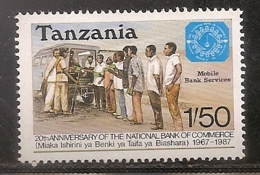 TANZANIE NEUF SANS TRACE DE CHARNIERE - Tanzania (1964-...)