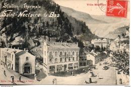 63. Saint Nectaire. Villa Moderne - Issoire