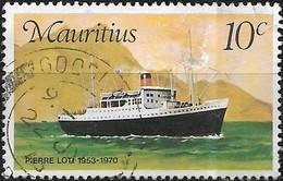 MAURITIUS 1976 Mail Carriers To Mauritius - 10c Pierre Loti, 1953-70 FU - Mauritius (1968-...)