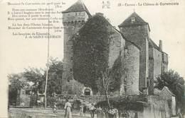 """CPA FRANCE 19 """"Le Château De Curemonte"""" - France"""