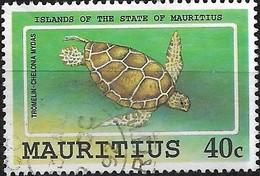 MAURITIUS 1991 Indian Ocean Islands - 40c Green Turtle, Tromelin FU - Mauritius (1968-...)