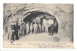 21136 - Jungfraubahn Station Eismeer Gruppenfoto Juli 1905 - BE Berne