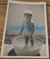 REAL PHOTO, ENFANT NU, 90X130MM - Personas Anónimos