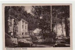 39068202 - Schulau Mit Heinsohn's Restaurant Gelaufen, Mit Marke Und Bahnpoststempel Von 1928, Zug Nr. 2947. Gute Erhal - Deutschland