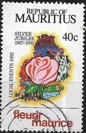 MAURITIUS 1992 Local Events And Anniversaries - 40c Bouquet (25th Anniv Of Fleurir Maurice) FU - Mauritius (1968-...)