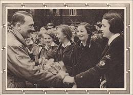 Memel: Propagandakarte Mit Sonderstempel Zum Geburtstag Des Führers 1939 - Klaipeda