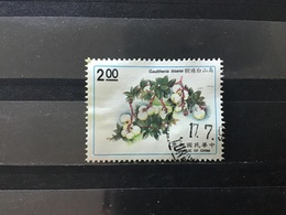 Taiwan, China - Bloemen (2) 1991 - 1945-... Republiek China