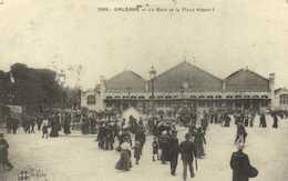 ORLEANS  La Gare Et La Place Albert I RV - Orleans