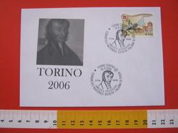A.03 ITALIA ANNULLO - 2006 TORINO AMEDEO AVOGADRO CONGRESSO SOCIETA' ITALIANA DI FISICA VERCELLI QUAREGNA BIELLA - Physique