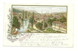 AK Sarajevo - Litho - 1897 - Bosnie-Herzegovine