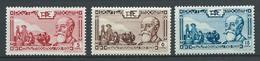 INDOCHINE 1938 . N°s 199 , 200 Et 201 . Neufs * (MH) - Indochine (1889-1945)