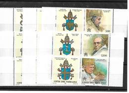 VA014 - VATICANO 2000 - SERIE 11194/1202  - I PAPI E GLI ANNI SANTI -NUOVI - Vatican