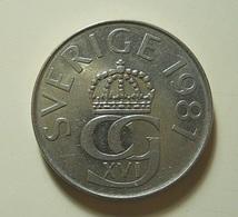 Sweden 5 Kronor 1981 - Suède