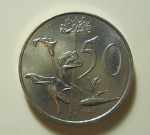South Africa 50 Cents 1990 - South Africa