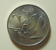 South Africa 50 Cents 1990 - Afrique Du Sud