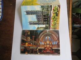 Montreal Carnet De 6 Cp ( 9/14 Cm ) Basilique Notre Dame De Montréal Quebec - Orgues Exterieur Et Intérieur - Montreal