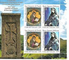 VA015 - VATICANO 2015 - MINIFOGLIO MF1706/07  - SAN GREGORIO DI NAREK - NUOVO - Vatican