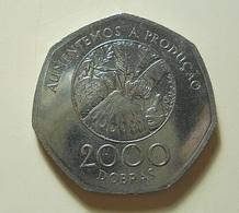 S. Tomé E Príncipe 2000 Dobras 1997 - Sao Tome Et Principe