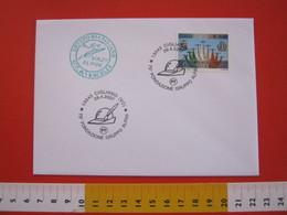A.03 ITALIA ANNULLO - 2007 CIGLIANO VERCELLI 75° GRUPPO ALPINI ANA ALPINO CAPPELLO - Militaria