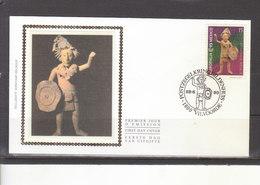 2508 Europalia 93 Mexique - Statuette Maya - FDC