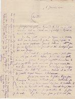 VP13.633 - 1920 - Lettre De Mr DUBOIS Agence Consulaire De France à BATHURST ( Gambie ) à Sa Femme à VILLENEUVE D'OLMES - Manoscritti
