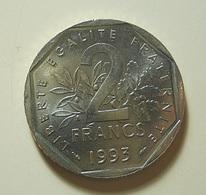 France 2 Francs 1993 - I. 2 Francs