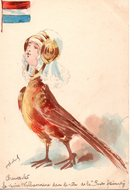 Illustrateur : Roberty : Chantecler La Reine Wilhermine - Autres Illustrateurs
