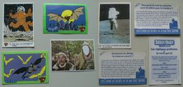 10 Vignettes LA VACHE QUI RIT : BATMAN - TINTIN - ASTERIX - PENAL' TIR + ... - Stickers