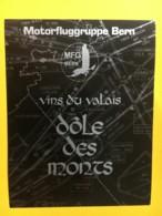 9197 - Motorfluggruppe Bern MFG Dôle Des Monts Suisse - Etiquettes