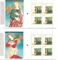 VA018 - VATICANO 2009 - LIBRETTI L17A E L17B  - NATALE 2009 ANGELI - NUOVI - Vatican