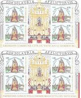 VA019 - VATICANO 2016 - MINIFOGLIO MF 1747 ED EMISSIONE CONGIUNTA LUSSEMBURGO  - MARIA CONSOLATRICE - NUOVI - Vaticano (Ciudad Del)