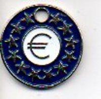 Caddie Jeton  Euro  Munten Van Winkelkarretjes - Jetons De Caddies