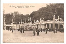 72 - LE MANS - Exposition De L'Ouest De La France - Vue Partielle Des Pavillons. - France
