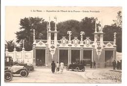 72 - LE MANS - Exposition De L'Ouest De La France - Entrée Principale. - France