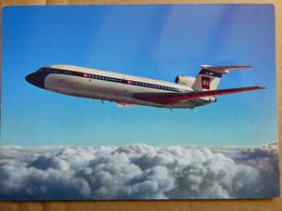 AIRLINE ISSUE / CARTE COMPAGNIE          BEA  TRIDENT - 1946-....: Era Moderna