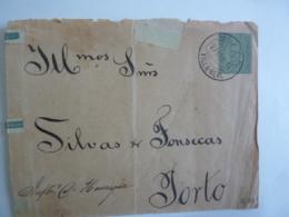 Entiers Postaux PORTUGAL  Entier Postal Continente Correios 25 Cachet à Date VILLA-REAL 1894  Dec 2018 Alb 5 - 1892-1898 : D.Carlos I