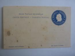 Carte Postale Entier Postal D'Argentine - 6 Centavos Non Circulé Avant 1900  Dec 2018 Alb 5 - Entiers Postaux