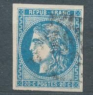 N°45 BORDEAUX VARIETE - 1870 Bordeaux Printing